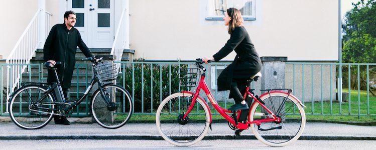 Introbild för test om elcykel
