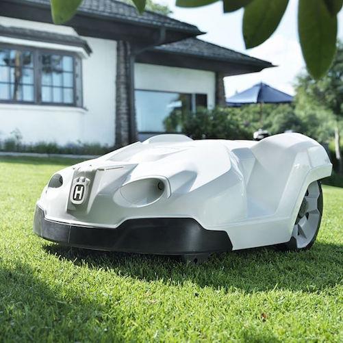 Bild för Robotgräsklippare