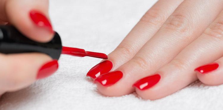 Introbild för test om nagellack
