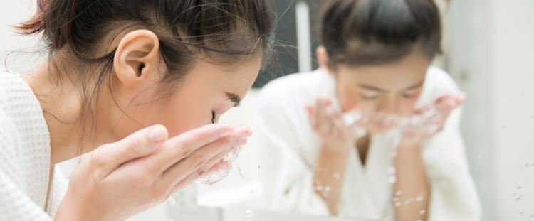 Introbild för test om ansiktsreng�ring